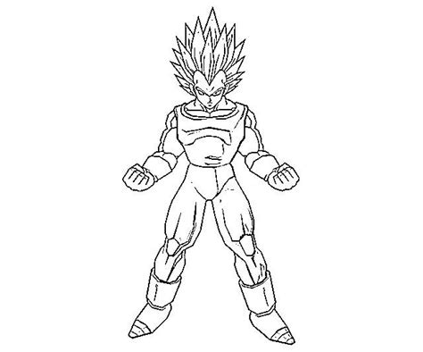 Vegeta Coloring Page printable vegeta coloring pages coloring me