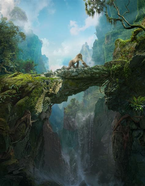 artstation high jungle daniel romanovsky