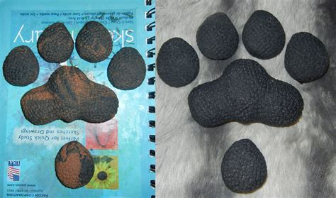 paw pads canine sculpt and cast paw pads by drakonicknight on deviantart