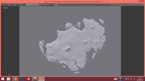 blender world map blender world map open world map polycount travel
