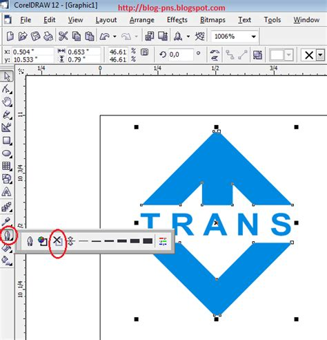 tutorial membuat logo universitas tutorial cara membuat logo transtv di coreldraw blog pns