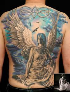 male angel tattoos designs guardian tattoos our top 20 favourite designs