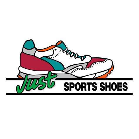 sport shoe logos just sport shoes free vector 4vector