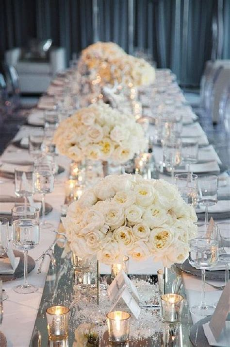winter wedding table centerpieces 3 amazing wedding table decoration with flowers and candles weddings