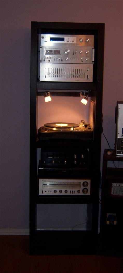 ikea stereo cabinet hack a trim lack stereo shelf ikea hackers ikea hackers
