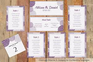 wedding seating chart template download by diyweddingtemplates