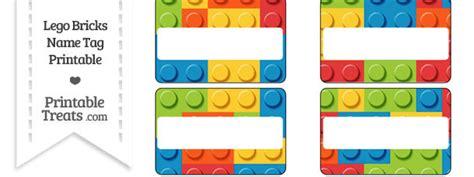 free lego printable name tags lego bricks name tags printable treats com