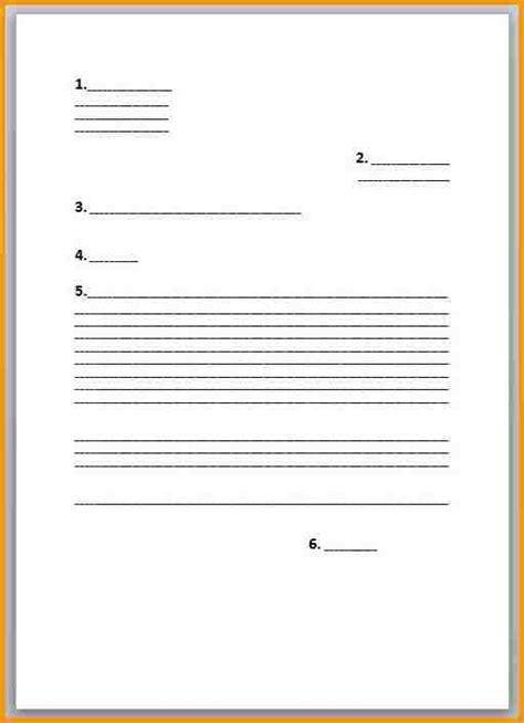Lettre De Quitter L école trame courrier r 233 diger un courrier jaoloron