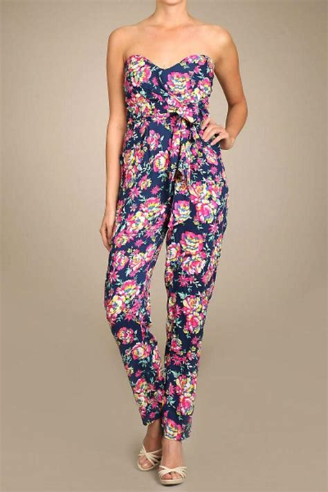 Jumper Bayi Jumpsuit Flower day floral jumper from wilmington by the dress shop wilmington shoptiques