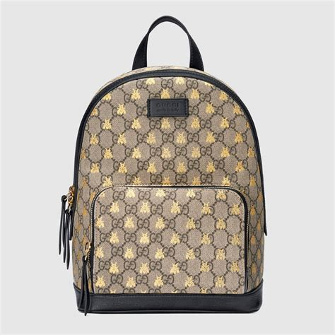 Backpack Fashion Bee gucci cruise 2018 bag collection features the ophidia bag