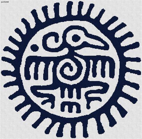 imagenes de fondos aztecas patrones de aztecas en punto de cruz