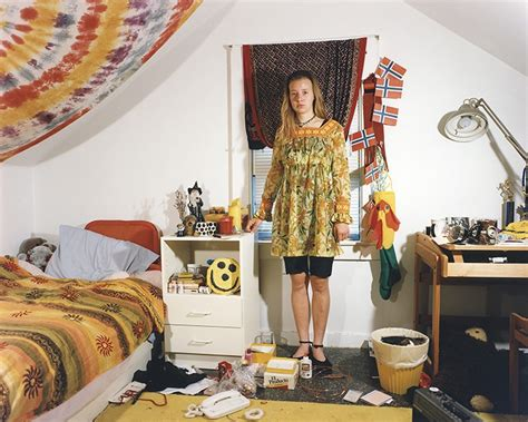 clean teenage bedroom travel back in time with this series of portraits of 90s teenagers in their bedrooms