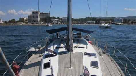 board boat sailboat skippered boat charter ibiza bavaria 50