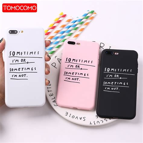 iphone      soft tpu silicone matte case coque girl cute memes cool quote funny