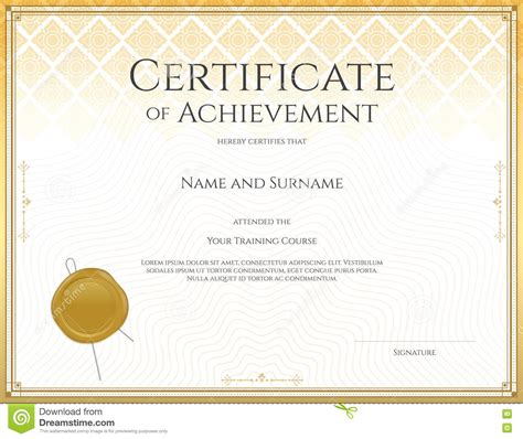 certification letter of accomplishment safety appreciation certificates templates poesiafm tk