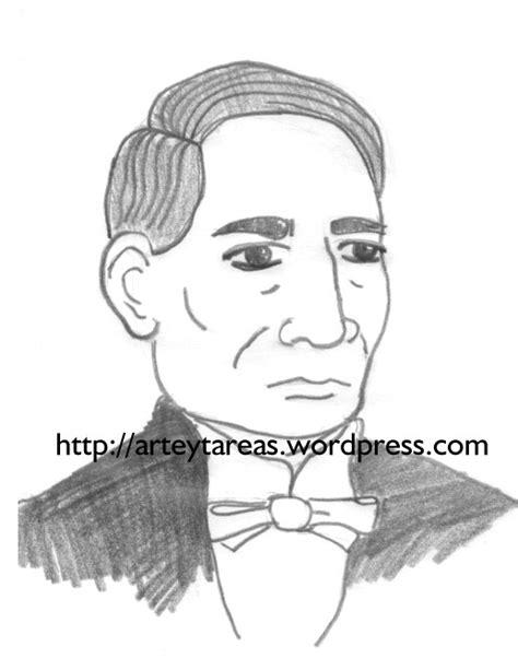 imagenes de benito juarez faciles para dibujar benito juarez arte y tareas