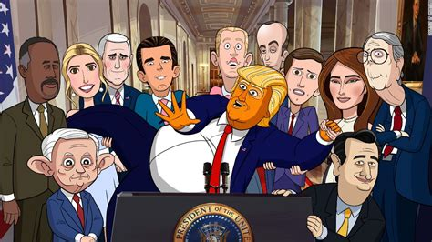 williams secret service series showtime sets spoof our president cnn