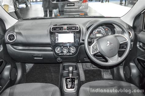 mitsubishi attrage 2016 colors 2016 mitsubishi attrage interior dashboard at 2016 bangkok
