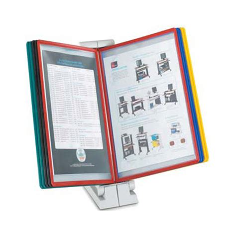 desk document holder stand quickfind document holder desk top by www ergodirect