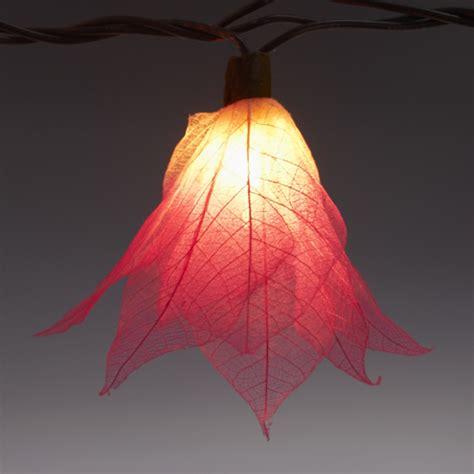 9ft Tropical Flower Lights 110v Ac String Lights Pink Tropical String Lights