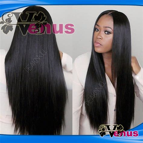 natural hairstyles for long straight hair stylish long hair style silk straight synthetic lace front