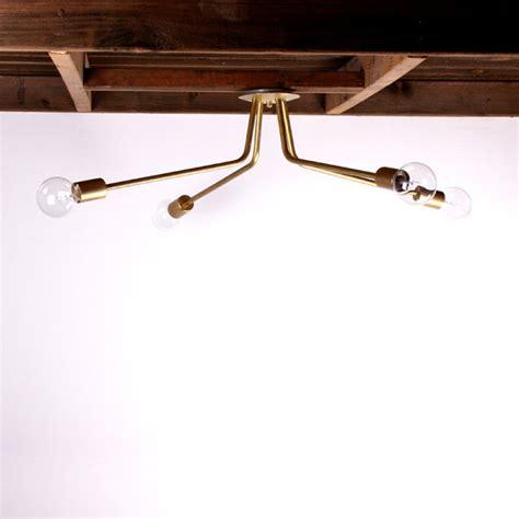 architecture modern brass ceiling light design on