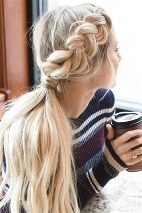 a quick and easy hairstyle i can fo myself best 25 long hair ponytail ideas only on pinterest hair