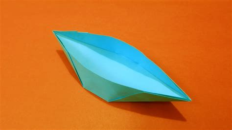 how to make a paper double boat how to make a paper boat canoe easy youtube