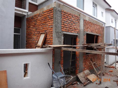 malaysia home renovation 2 storey terrace house