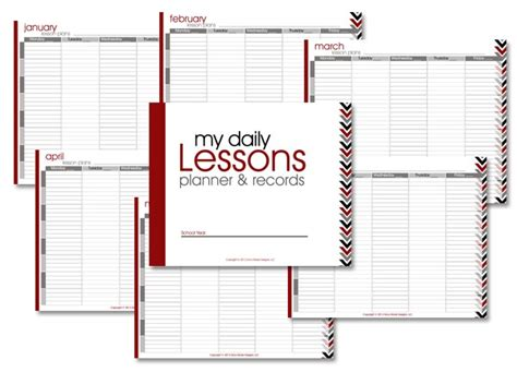 homeschool lesson planner free homeschool lesson planner arrows confessions of a