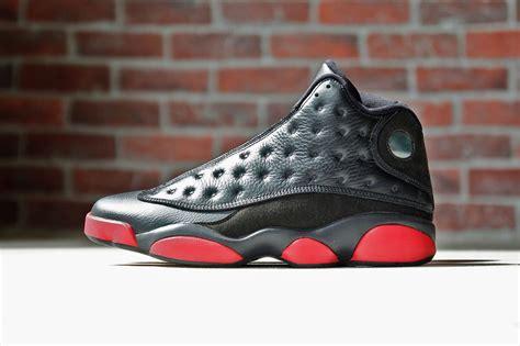 jordan retro 13 air jordan 13 black red december 2014 sneakerbardetroit com