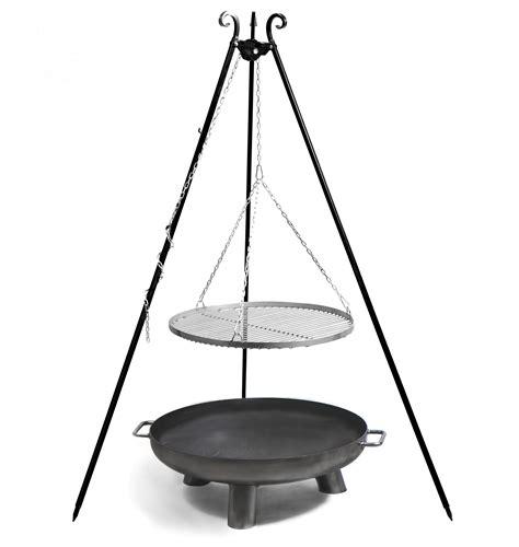 schwenkgrill mit feuerschale 216 80cm kaufen bei finnwerk - Dreibein Mit Feuerschale