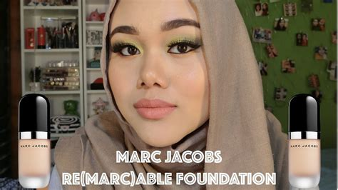 marc jacobs remarcable foundation  impression