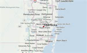 where is opa locka florida on map opa locka location guide