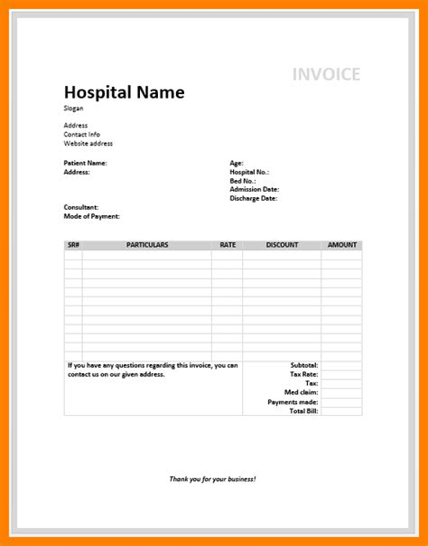 4 Medical Records Invoice Short Paid Invoice Invoice For Records Template