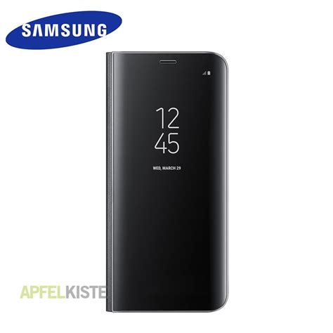 Samsung Galaxy S8 Clear View Standing Cover Flip Casing Bumper galaxy s8 clear view standing h 252 lle schwarz