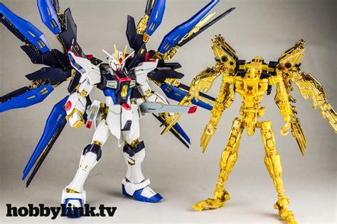 Rg 1144 Strike Freedom Gundam gunpla tv episode 137 rg strike freedom mg nu gundam ver ka titanium finish