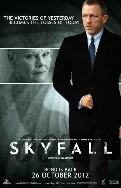 skyfall trailer   poster crusatamil
