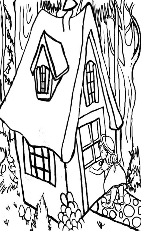printable coloring page of laura ingalls wilder coloring pages