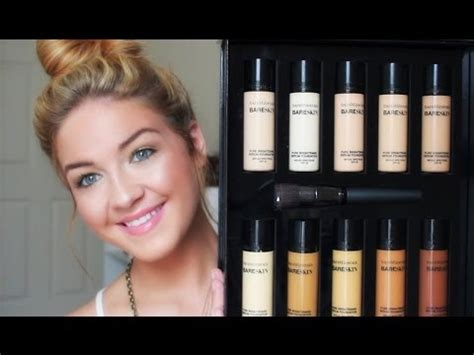 Flawless Skin With Bare Minerals Bglam by Flawless Skin With Bare Minerals Bareskin Serum Foundation