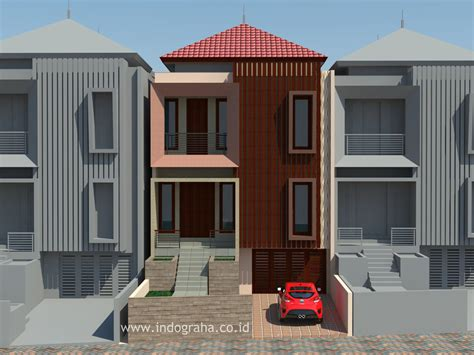 Rumah Minimalis Jakarta Timur desain town house minimalis di duren sawit jakarta timur