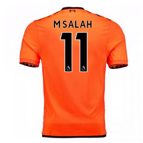 M Salah Liverpool 2017 2018 Home Away Third Style Nameset 2017 18 liverpool third shirt m salah 11 mt730024 100545 94 76 teamzo