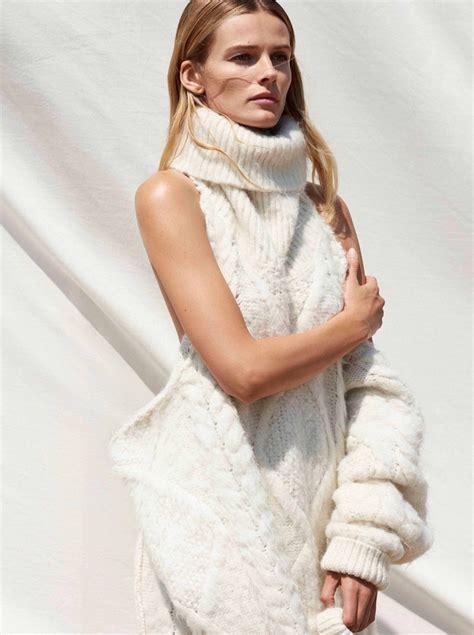 edita vilkeviciute sunday times style  cover cozy fall editorial fashion  rogue
