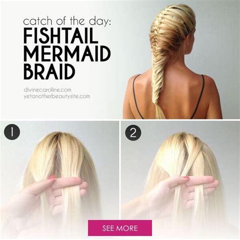 the ultimate mermaid braid step by step instructions how to make a fishtail mermaid braid trusper