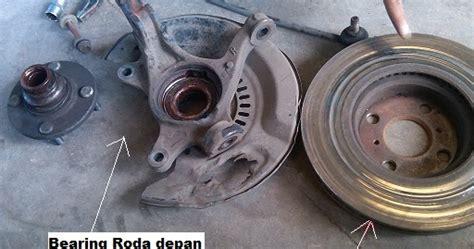 bengkel mobil front wheel bearing