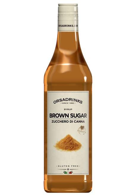 brown sugar syrup odk orsa drink syrups pro bar