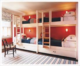 Bunk Bed Designs For Kids Room Four Kids One Room Bunk Beds Decoholic