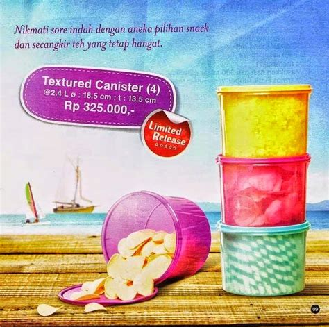 Texture Canister Set tupperware wholesale jakarta tupperware texture