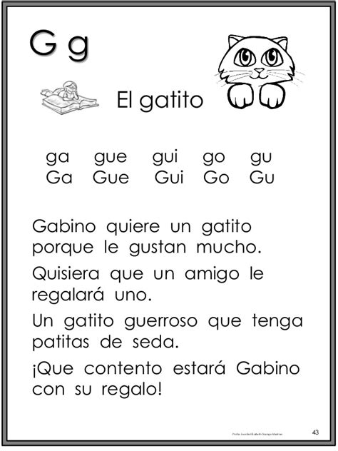 libro a spanish learning grammar libro magico para fotocopiar fonema g spanish dual language and language