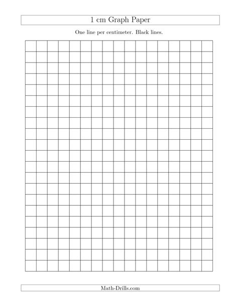 centimeter graph paper printable 8 best images of printable graph paper 1cm printable